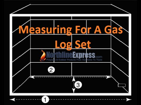 Measuring Your Fireplace For The Installation Of A Gas Log Set ...