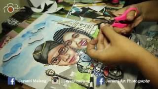BTS Jayanti Wedding House - Kreasi Mahar Karikatur
