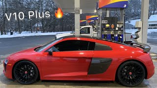 TRAVELING 2500 MILES TO GET MY FIRST EXOTIC!! 2017 AUDI R8 V10 PLUS | THE GTR REPLACEMENT