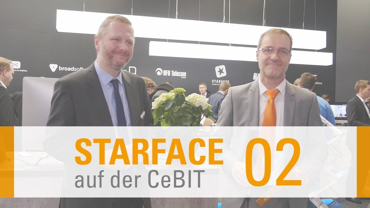 Als Partner auf der CeBIT - Starface im Interview mit HFO Telecom