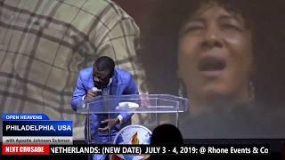 Open Heaven: PHILADELPHIA / Day 1 Morning // Apostle Johnson Suleman