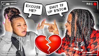 Telling My Girlfriend To SHUT UP To See Her Reaction..*NEVER AGAIN*