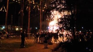 金華山は麓の 手力雄神社 にて行われた 火祭 に、斎藤道三 明智光秀 長...