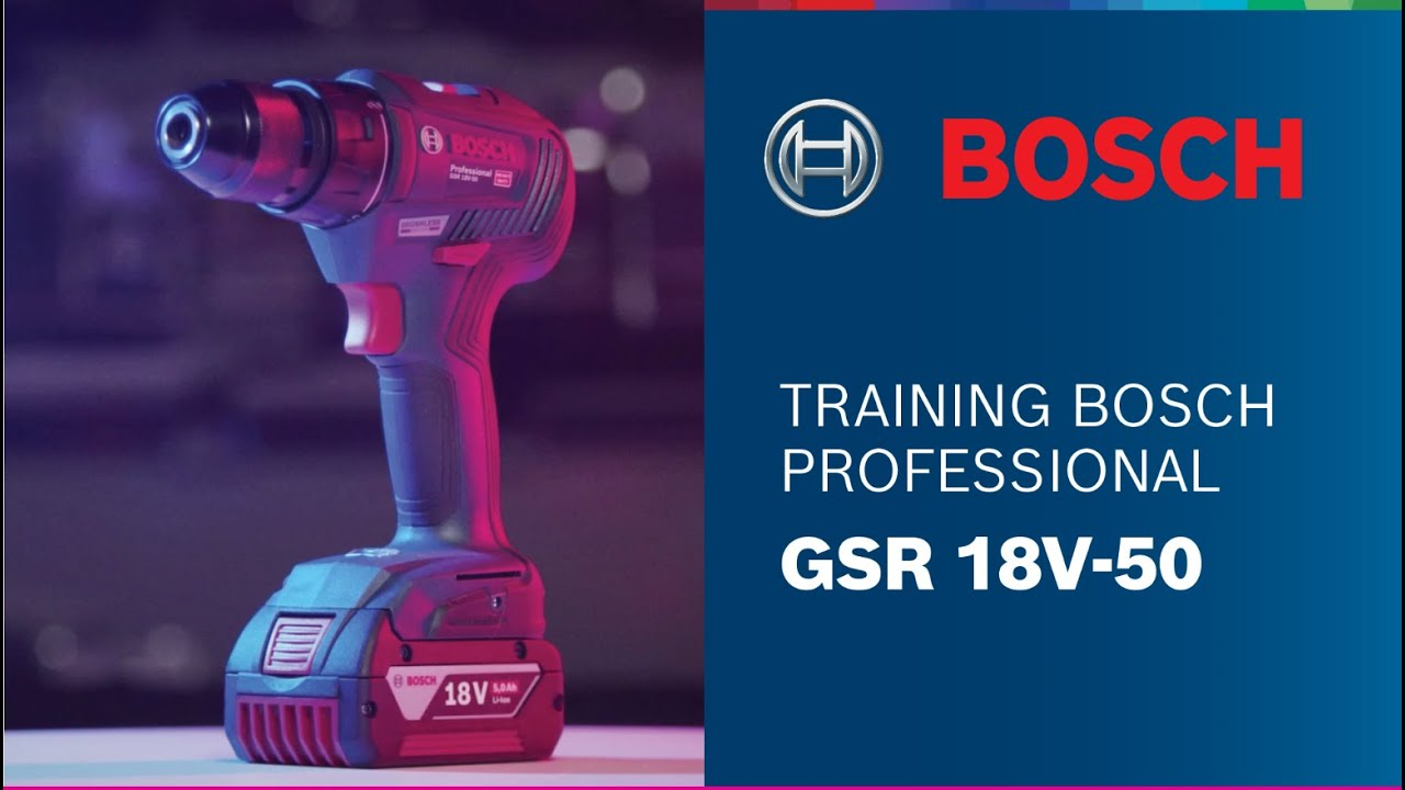 Download Training Bosch Professional: GSR 18V-50 Brushless
