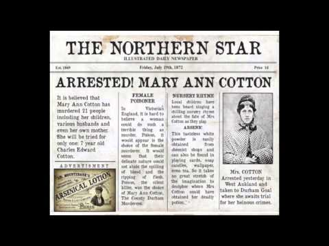 Mary Ann Cotton. Peg Powler