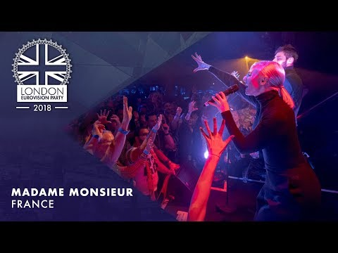 Madame Monsieur - Mercy - FRANCE | LIVE | OFFICIAL | 2018 London Eurovision Party