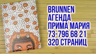 Розпакування Brunnen Агенда Прима Марія 73-796 68 21 А5 на 320 сторінок