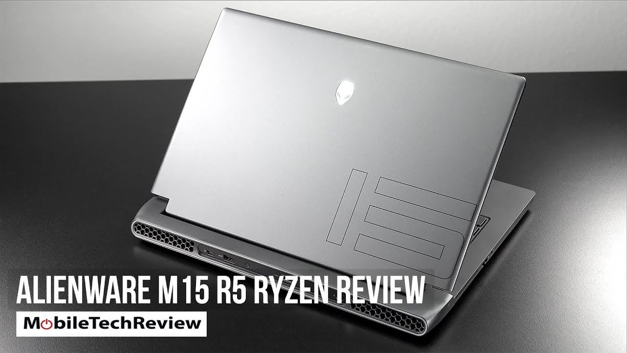 Alienware m15 R5 Ryzen Edition Review
