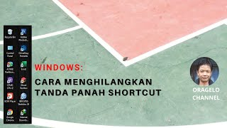 Cara Menghilangkan Panah Shortcut Icon Software   Oragelo Channel screenshot 5