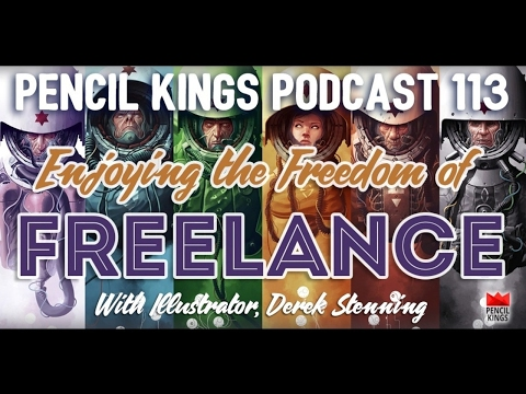 PK 113: How the Freedom of a Freelance Art Career Can Help You See The World