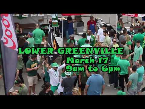Lower Greenville St. Patrick's Day Block Party Promo 2018