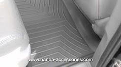 Honda Odyssey WeatherTech Floor Liners Installation
