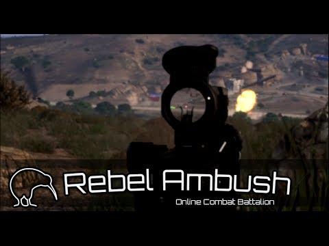 """ARMA 3 """"Rebels get Ambushed"""""""