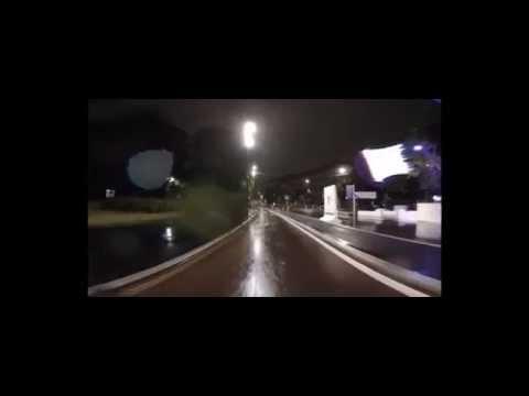 Il viaggio longo, the raining night of Milan