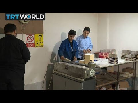 The War in Syria: Refugees in Turkey receive vocational training