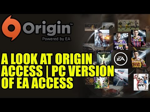 A Look At Origin Access   PC Version Of EA Access On Xbox One