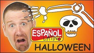Halloween para niños | Canciones de Halloween para bebes | Aprender con Steve and Maggie Español