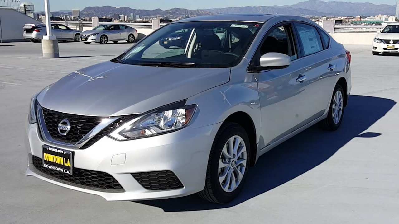 nissan sentra sv 2019 2020 new car release date. Black Bedroom Furniture Sets. Home Design Ideas