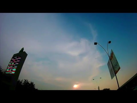 Time lapse in Guatemala City-Sky