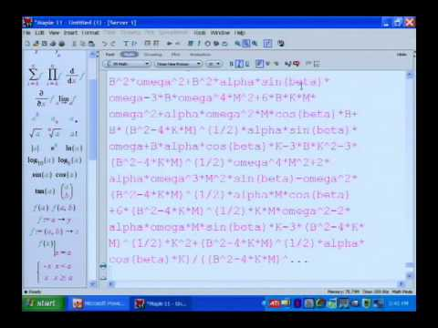 New generation of math software from Maplesoft