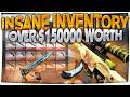 CS:GO - $150,000+ INVENTORY (INSANE BLUE GEMS, STATTRAK CRIMSON WEB FN COLLECTION & MORE)