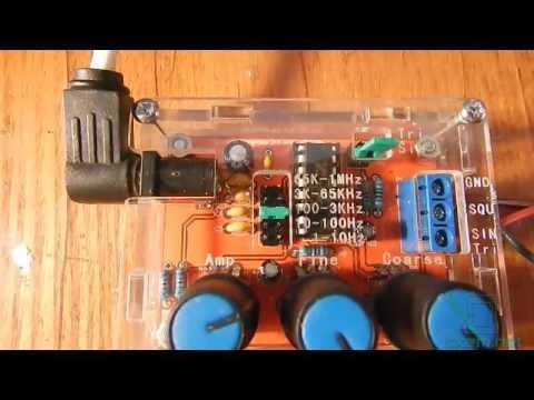Генератор сигналов на xr2206 из китая схема подключения