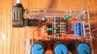 Обзор генератора XR2206 (с Banggood)