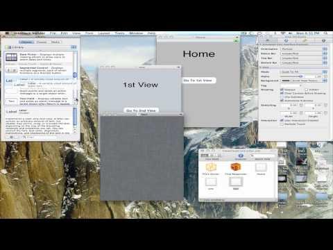 iPhone SDK Switching views