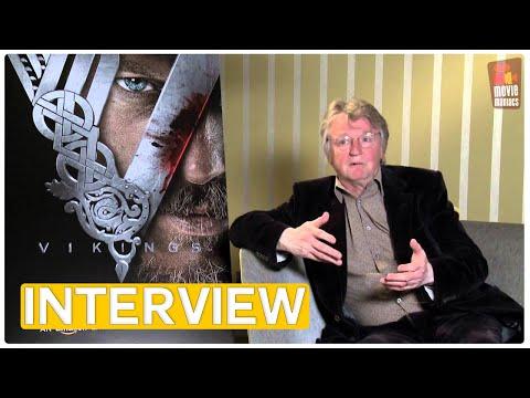 Vikings | Katheryn Winnick, Travis Fimmel, Clive Standen & Michael Hirst Interview (2013)