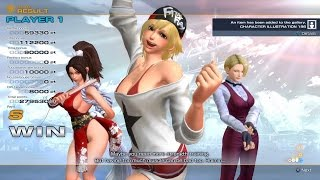The King of Fighters XIV: Team Women Fighters Arcade/Story Playthrough [PS4, 2016]