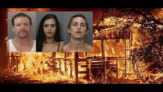 LOOTERS + FIRE = THUGS WELL ''DAM''