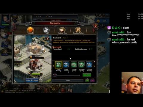 Clash Of Kings On Facebook GamePlay 2