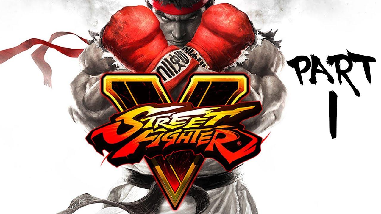 street fighter v gameplay walkthrough part 1 - ryu & ken (story mode