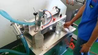 Mesin Filing (Mesin pengisian minyak,oli,kimia kedalam kemasan)