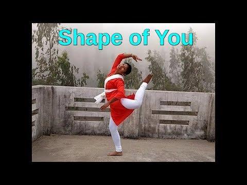 Shape of you dance performance...