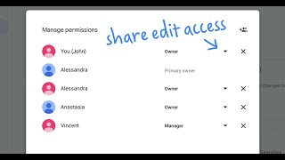 How do I share edit access for my Business Profile on Google? | Quick Help