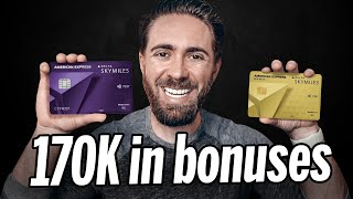 *ONLY 2* NEW Delta AMEX Credit Cards SkymilesWorthy [2021]