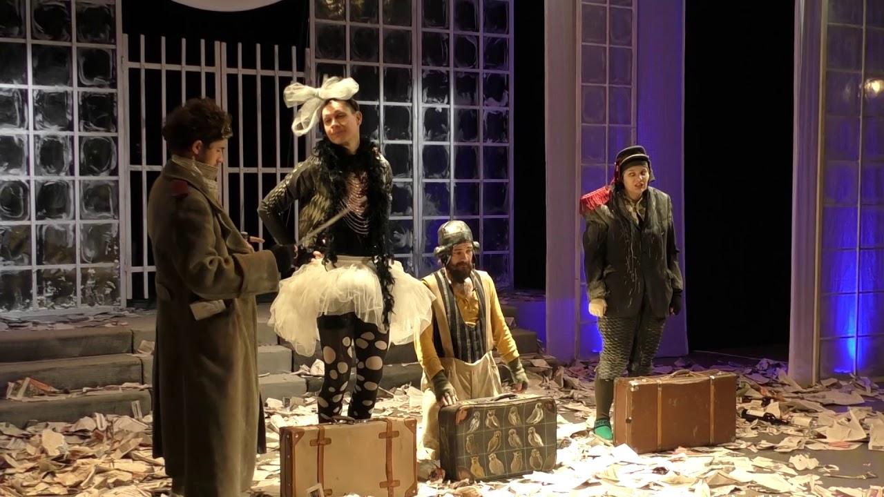 O nouă premieră la Teatrul Turda: Orchestra Titanic (05.12.2019)