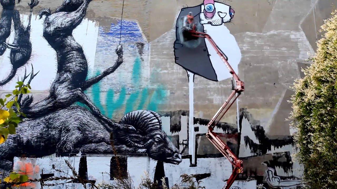 one truth berlin street art 10 hours graffiti artist künstler ...