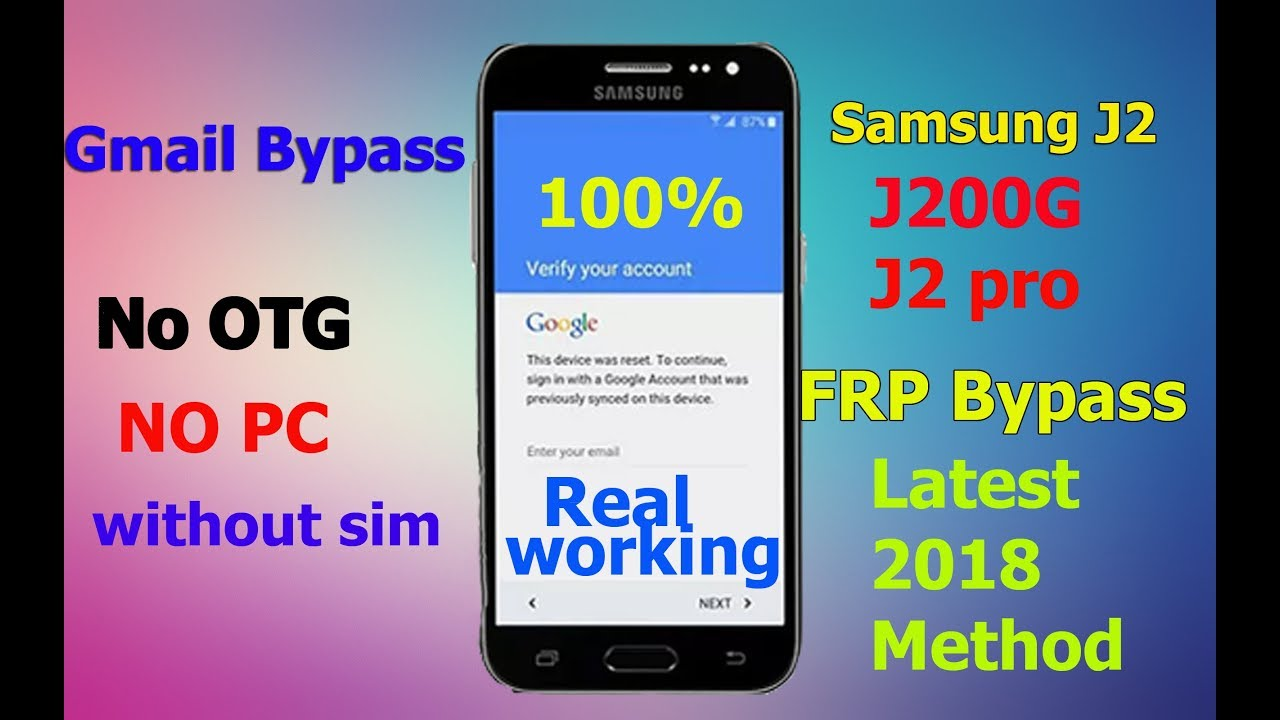 Bypass any samsung account lock apk without otg | FRP Lock