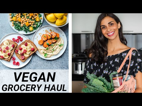 10 FOODS I EAT EACH WEEK | healthy vegan grocery staples
