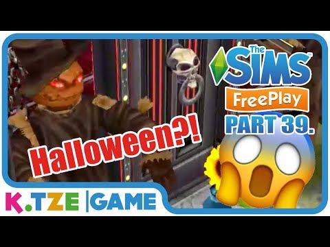 Let's Play Sims FreePlay auf Deutsch 👨👩👧👦 Halloween Party  App Part 39.