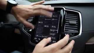 Обзор Sensus в Volvo XC90 2015 - новая мультимедийная система Вольво(Подробный обзор мультимедийной системы Sensus в новом Volvo XC90 2015., 2015-08-10T11:48:03.000Z)