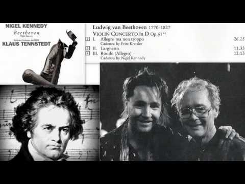 Ludwig van Beethoven: Violin concerto in D Op. 61, Nigel Kennedy (Recorded live)