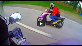 MIO versus NOUVO Z Yamaha  top speed, Iniwan ng XRM
