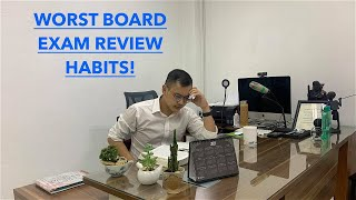 5 HABITS TO AVOID WHEN STUDYING FOR THE BOARD EXAMINATION