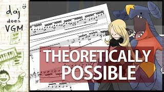 Cynthia Battle Theme - Theoretically Possible Piano ;) [#1]
