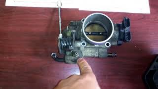 Проверка и настройка дроссельной заслонки Nissan Bassara. Часть 1.