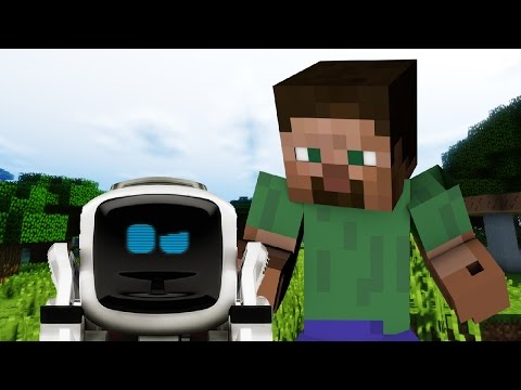 Thumbnail: If Robots Were In Minecraft