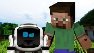 - If Robots Were In Minecraft